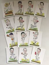 England Cricket Trade Cards - 2005 Ashes Win- 13 Card Set- Ltd Edition-1000 Sets