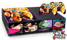 Goku xbox one skin vinyl decal  x9 anime One piece blach naruto street fighter