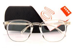 Brand New Garrett Leight Eyeglass Frames Clark Pure Glass 1049-47-PG For Men