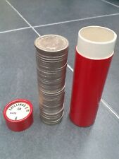 50 x 1965 Scottish Shillings in Red Bank Sandhill Roll Tube UNC to BU