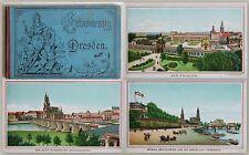 Souvenirs de Dresde. album avec 15 panneaux chromolithografische pour 1890-xz