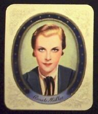 Renate Müller 1934 Garbaty Film Star Series 1 Embossed Cigarette Card #21