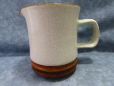 Potter's Wheel Rust Red by Denby-Langley Creamer Rust Red Center Brown Rim B134