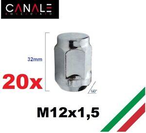 20 DADI RUOTA adatto per FORD C-MAX FOCUS KUGA MONDEO VOLVO c30 c70 s40 s60