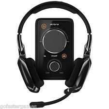 ASTRO GAMING A30 PC PS4 XBOX ONE HEADSET HEADPHONES BLACK MIXAMP PRO NEW