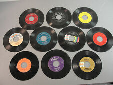 🎙️RECORD 45 RPM VINYL 50-70's EARLY SOFT ROCK POP COUNTRY MOTOWN DOO-WOP LOT 48