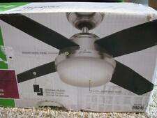 "Hunter 44"" Remote Control Ceiling Fan Dempsey Brushed Nickel 59245 New open box"