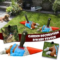 Funny Scary Crawling Zombie Gnome Garden Statues Resin Figurines Garden Decors