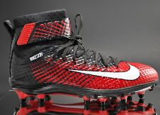 New Nike Lunarbeast Elite Td Black/ Red Mens Football Cleats Size 10 779422-016