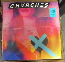 CHVRCHES Love Is Dead LP SEALED clear blue vinyl synth-pop w/download Glassnote