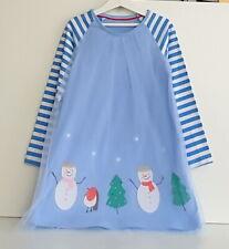 Kinder Mädchen Kleid Tüllkeid Gr. 110 Kinderkleid Weihnachten Party Freizeit