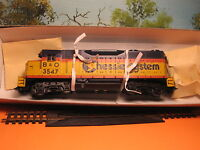 ATHEARN HO SCALE #4208 GP-35 CHESSIE SYSTEM #3547 POWER