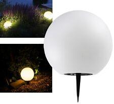 3x RGB LED Solar Außen Lampen Veranda Steck Rosen Kugel Strahler Garten Leuchten
