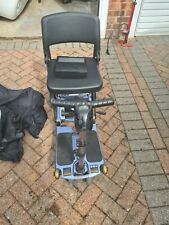 Blue LUGGIE Folding Mobility Boot Scooter with 2 Batteries, excellent condition
