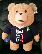 """TED 2""- TED 24 INCH R RATED TALKING PLUSH TEDDY BEAR- $5.00 DISCOUNTED!!!"