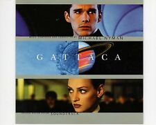 CD MICHAEL NYMAN	gattaca SOUNDTRACK  (B0034)