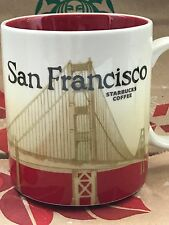 NEW Starbucks SAN FRANCISCO California City Icon 16 oz mug RARE! Discontinued!