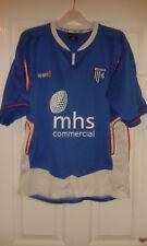 Mens Football Shirt - Gillingham FC - Home 2006-2007 - UHL Sport - Blue - L