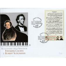 2010 FDC Filagrano Vatican Chopin 1 Bustone MF72481