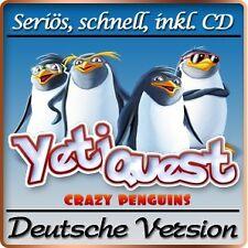 Yeti Quest - Pinguine im Einsatz Deluxe - PC-Spiel 3-Gewinnt