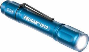 Pelican 1910B LED Flashlight (Blue) Single AAA 72 Lumens