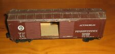 Vintage O Scale Double Door Box Car,Automobiles,Pennsylvania,Wood-Brass Kit