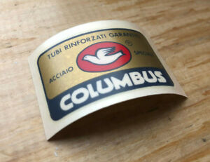 NOS Columbus SL Seat Tube Decal, Original 1970s to Early 1980s, Not Repro