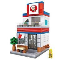 Street View KFC Chicken LOZ BLOCK Mini Building Nanoblock iBlock a F01