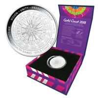 2018 Gold Coast XXI Commonwealth Games Legacy of Reconciliation 1oz Silver Coin