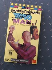AUTOGRAPHED by Dick Smothers Yo-Yo Man  Video (VHS) Smothers Brothers-1988