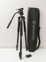 Vanguard Abeo 243AT Aluminum Tripod with PH-113V Pan Head ~As New