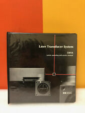 Hp 05501 90028 5501a Laser Transducer System Operating Amp Service Manual
