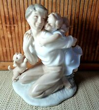 """""""Daddy's Little Girl"""" Porcelain Figurine / The Valencia Collection By Roman Inc"""