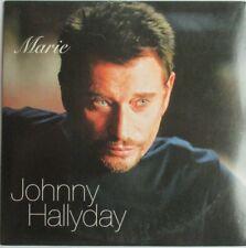 "JOHNNY HALLYDAY - CD SINGLE ORIGINAL ""MARIE"""
