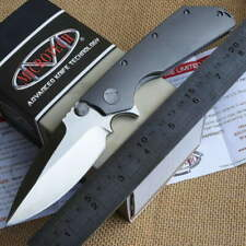 Bearing Washer Folding Tactical Camping Outdoor Knife DOC Titanium Handle Gift