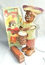 CALYPSO JOE 1950's JAPAN by LINEMAR TOYS - EXCELLENT / WORKING ( Partial Box )