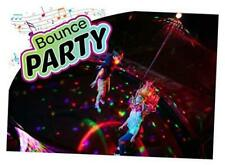 ThrillZoo Bounce Party - Trampoline Lights & Music - Kids Fun Summer Nightime Tr