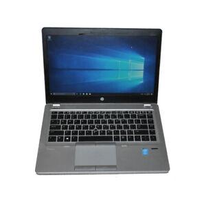 "HP EliteBook Folio 9480m 14""  Laptop Intel i7-4600U CPU 8G RAM 256G SSD Win10"