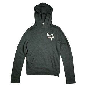 Abercrombie Kids Boys Grey Hoodie Jumper Pullover Size XL 15-16 y