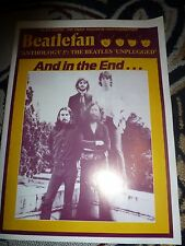BEATLEFAN MAGAZINE ISSUE 103 VOL 18 NO. 1 NOV DEC 1996 ANTHOLOGY 3
