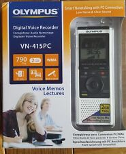 OLYMPUS Digital Voice Recorder VN-415PC Dictaphone Portable White Microphone