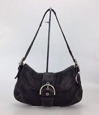 Coach 9248 Soho Black Leather Hobo Top Handle Satchel Hand Bag Shoulder Purse