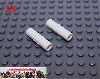 2X Lego® 18948 Technic Achs-Verbinder Getriebe Kupplung Ring 3L Weiß White NEU