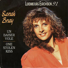 SARAH BRAY UN BAISER VOLE / ONE STOLEN KISS FRENCH 45 SINGLE
