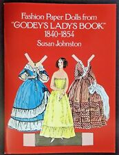 NEW! Godey Fashion Paper Dolls, 1840-1854 by Susan Johnston • 1977 FREE SHIPPING