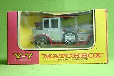 Modellauto - Matchbox - Models of Yesteryear Y-7 - 1912 Rolls Royce - OVP