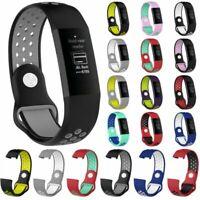 Silikon Armband Uhrenarmband Watch Band Strap Für Fitbit Charge 3 Smart Tracker