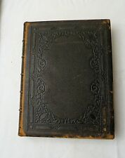1873, A Gallery of Famous English and American Poets, Leather, Steel Engravings