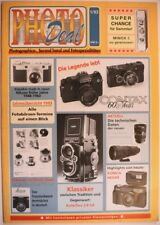 PHOTO DEAL 1 Erstausgabe Contax 60 J. Konica Hexar Nikon Leica Minox Rolleiflex