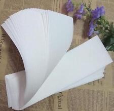 50x Non-woven Hair Removal Paper Depilatory Wax Strip Epilator Waxing Tool KE UK